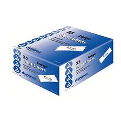 "Dynarex Incontinence Pant Liner 6"" x 17"", 18g - One pkg of 25 each - Total Diabetes Supply"