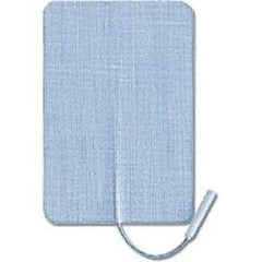 "Donby 2"" X 3.5"" White Cloth Silver Electrode,rectangle - Total Diabetes Supply"