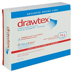 "Drawtex Hydroconductive Dressing with Levafiber 2"" x 2"" (10 pcs. per box) - Total Diabetes Supply"