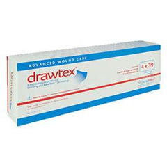 "Drawtex Hydroconductive Wound Dressing 4"" x 39 (5 pcs. per box) - Total Diabetes Supply"
