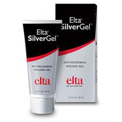 Swiss-American Products Elta SilverGel Advanced Silver Antimicrobial Wound Hydrogel 1 oz Bellows Bottle, Crystal Clear, Non-cytotoxic, Amorphous, Latex-free, Each - Total Diabetes Supply