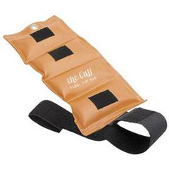 Fabrication Enterprises Original Cuff 3 lb  Ankle and Wrist Gold, Closure Strap - One Each