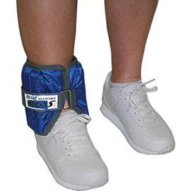 Fabrication Enterprises CanDo Adjustable Cuff Ankle Weight 10 lb, Blue - Each