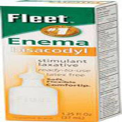 Cb Fleet Company Inc Fleet Bisacodyl Enema 1-1/4Oz, Latex-free - Each - Total Diabetes Supply