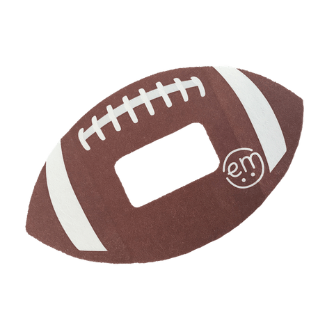 Football Dexcom Guards Adhesive Tape - Pack of 5