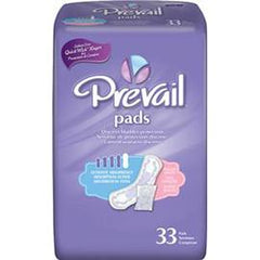 "Prevail Bladder Control Moderate Pad White, Latex Free 11"" - One pkg of 16 each - Total Diabetes Supply"