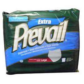 "Prevail Protective Underwear Large 44"" - 58"" - One pkg of 18 each - Total Diabetes Supply"