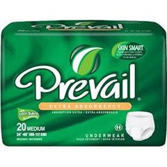 "Prevail Protective Underwear, 2X-LARGE, 68"" to 80"" - One pkg of 12 each - Total Diabetes Supply"