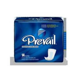 "Prevail Male Guards 13 "" White- Latex Free - One pkg of 14 each - Total Diabetes Supply"
