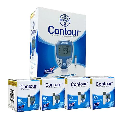 FREE Bayer Contour Diabetes Meter w/Purchase of 200 strips