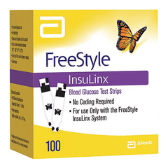 Freestyle Insulinx 100 ct. Test Strips
