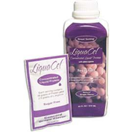 Global Health Products IN LiquaCel Sugar Free - Ready-to-Use Grape Liquid Protein 32oz - Total Diabetes Supply