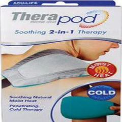 "Health Enterprises Therapod Heat and Cold Therapy Pad 11 x 5-1/2"" Adjustable Hands-Free Strap - Each - Total Diabetes Supply"