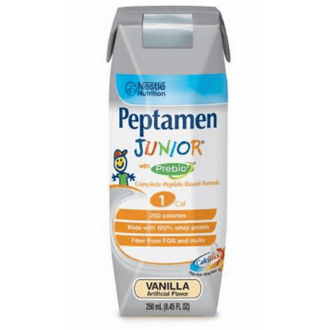 Nestle Peptamen Junior W/prebio1 Vanilla 250Ml Can - Each