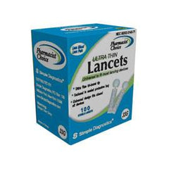 Pharmacist Choice Twist Top Lancets  33G -100 ct. - Total Diabetes Supply