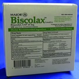 Harvard Bisacolax Laxative Supplement 10mg, White - Case of 1200 - Total Diabetes Supply