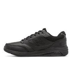 Men's Walking Diabetic Shoes - New Balance 928v2 - Black