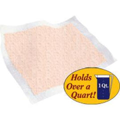 "Tranquility Heavy Duty Underpad 30"" x 36"", 34 oz, Peach, Latex-free - One pkg of 10 each - Total Diabetes Supply"