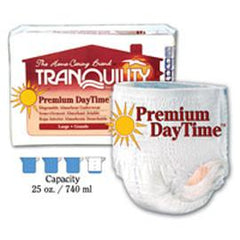 "Tranquility Premium DayTime Adult Disposable Absorbent Underwear, Latex-Free Medium (34""- 48"", 120 - 175 lb) - One pkg 18 each - Total Diabetes Supply"