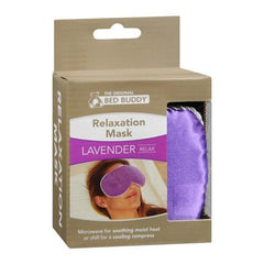 Carex Health Brands Bed Buddy At Home Relaxation Mask, Purple - Each