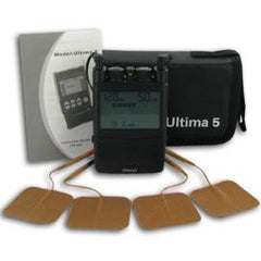 Pos-T-Vac Ultima 5 Tens Unit Dual Channel With Carrying Case - Total Diabetes Supply