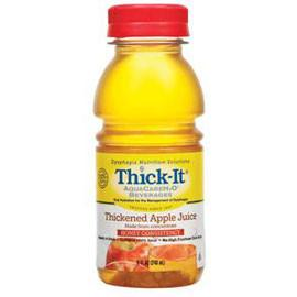 Precision Foods Aquacare H2O Thickened Apple Juice, Honey, 8Oz - Total Diabetes Supply