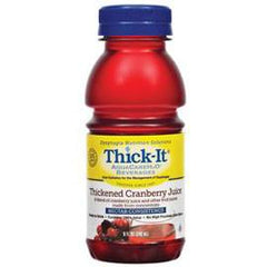 Kent Precision Foods Group Thick-It AquaCareH2O Thickened Cranberry Juice Nectar Consistency 8 oz. - Total Diabetes Supply