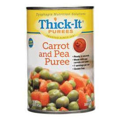 Kent Precision Foods Group Thick-It Carrot and Pea Puree 15 oz - Total Diabetes Supply
