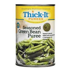 Kent Precision Foods Group Thick-It Seasoned Green Bean Puree 15 oz - Total Diabetes Supply
