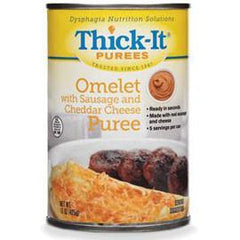 Kent Precision Foods Group Thick-It Omelet with Sausage and Cheddar Cheese Puree 15 oz - Total Diabetes Supply