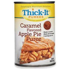 Kent Precision Foods Group Thick-It Caramel Flavored Apple Pie Puree 15 oz - Total Diabetes Supply