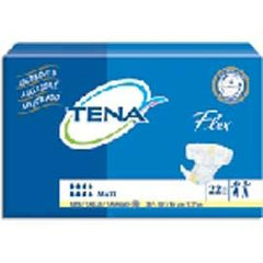 "TENA Flex Maxi Brief, Size 16, 33"" to 50"" Waist Size - One pkg of 22 each - Total Diabetes Supply"