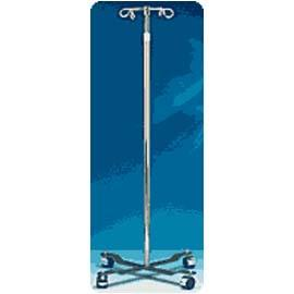 Carex Iv Pole, Four Hooks, Four Wheels, Adjustable Hght - Total Diabetes Supply