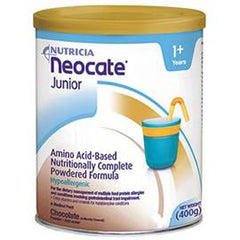 Nutricia North America Neocate Junior Pediatric Nutrition Chocolate Powder 14 oz Can - Total Diabetes Supply