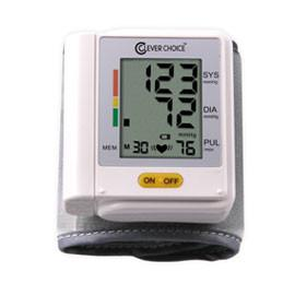 Clever Choice Fully Auto Digital Wrist BP Monitor with 30 Memory - Total Diabetes Supply