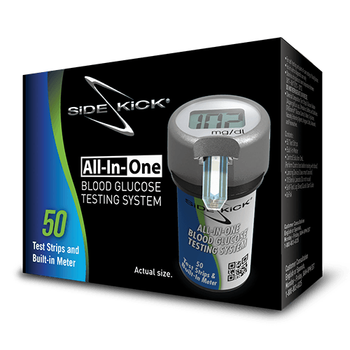 Sidekick All-In-One Blood Glucose Testing System