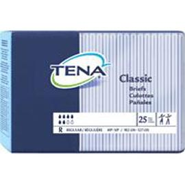"TENA Brief, Small 22"" to 36"" Waist Size - One pkg of 12 each - Total Diabetes Supply"