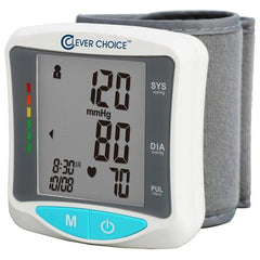 Clever Choice Wrist English and Spanish Talking Blood Pressure Monitor