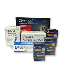 Super Saver Combo - 150 Strips, Meter kit, Lancing Device, Lancets, & Prep Pads - Total Diabetes Supply
