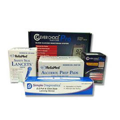 Total Diabetes Supply - Super Saver Combo - Contains: 50 Test Strips - Total Diabetes Supply