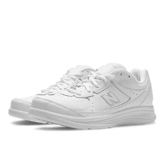 Men's Walking Diabetic Shoes - New Balance 577 - White