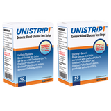 UniStrip Glucose Test Strips - 100ct - Compatible with OneTouch Ultra Meters