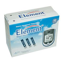 Element Auto-Code Glucose Test Strips - 50ct. - Total Diabetes Supply