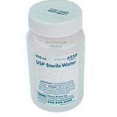 Nurse Assist Inc USP Sterile Water For Irrigation with Screw Top Container 100mL - Box of 1 - Total Diabetes Supply