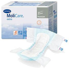 "Hartmann MoliCare Premium Soft Breathable Brief, Large 47"" to 59"" - One pkg of 30 each - Total Diabetes Supply"