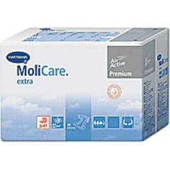 "Hartmann MoliCare Premium Soft Breathable Brief, XL 59"" to 68"" - One pkg of 14 each - Total Diabetes Supply"