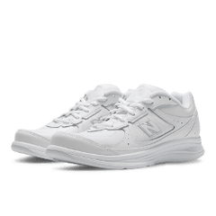 Women's Walking Diabetic Shoes - New Balance 577 - White 2