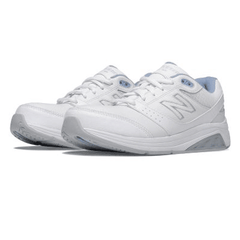 Women's Walking Diabetic Shoes - New Balance 928 - White/Blue