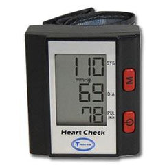 Heart Check Digital Wrist Blood Pressure Monitor - Total Diabetes Supply