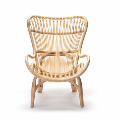C110 Highback Chair Natural by Yuzuru Yamakawa for Feelgood Designs - Open Room